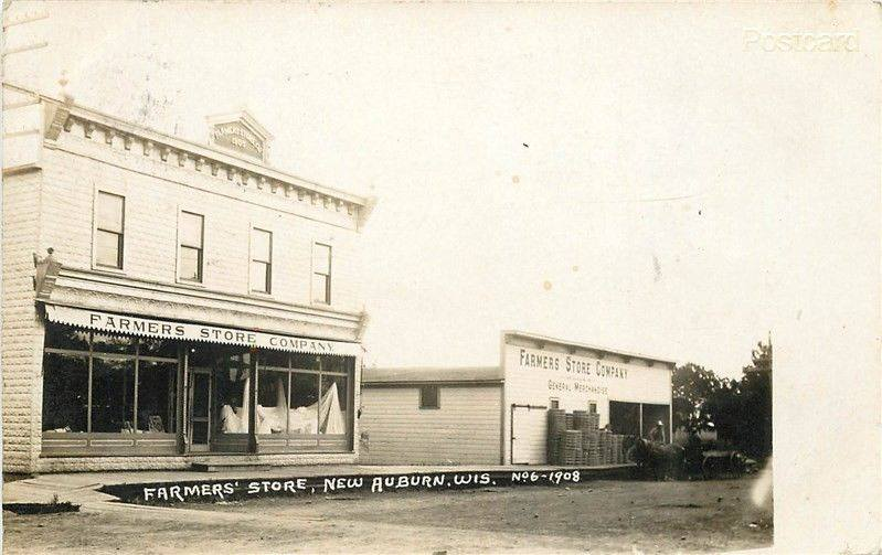 Historical Photo of New Auburn Farmers Store