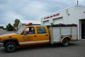 Photos of New Auburn Fire Department Truck