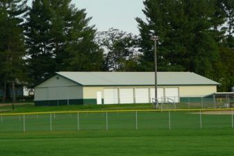 Photo of New Auburn Park Pavilion and Baseball Field