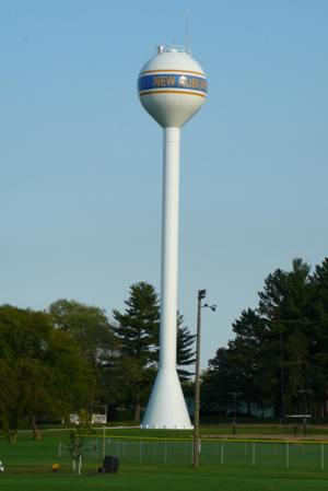Photo of New Auburn Water Tower