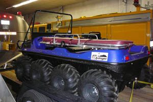 Photo of Argo Rescue Vehicle