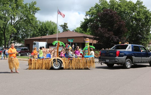 Picture of a float from the Jamboree Days parade